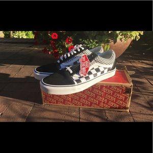 Mix Checkered Vans